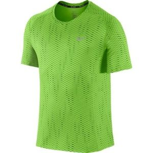 Nike Dri-FIT Miler Fuse Short Sleeve Shirt Green